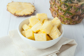 Eat-pineapple