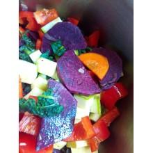Ipomoea batatas 'Molokai' - Dark Purple Sweet Potato