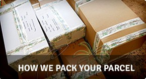 How we pack your parcel